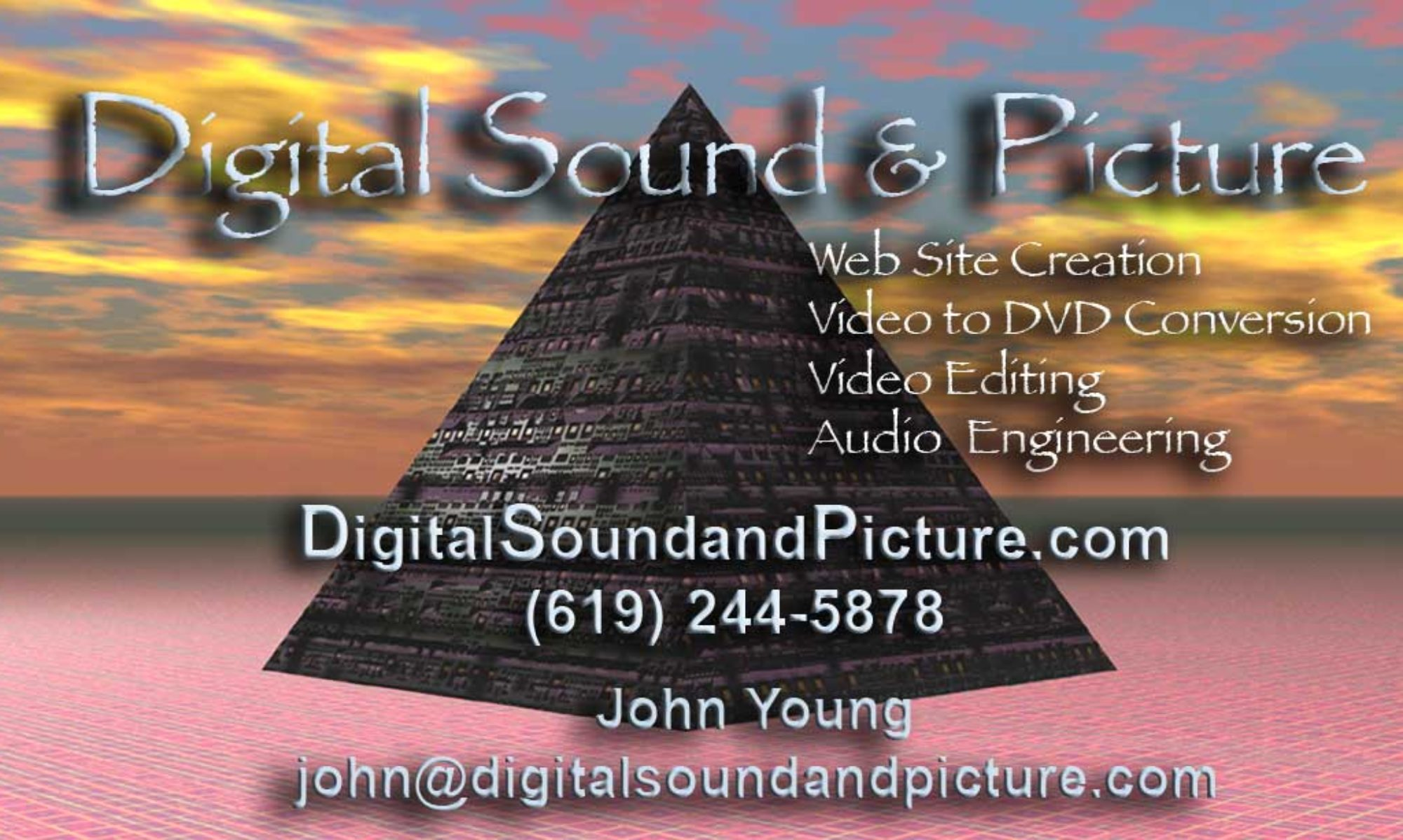 Digital Sound and Picture